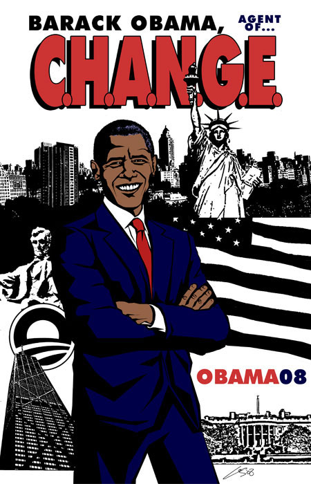 Barack Obama: Agent of C.H.A.N.G.E.