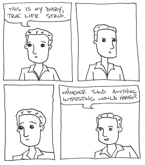 My Only True Life Autobiographical Comic Ever
