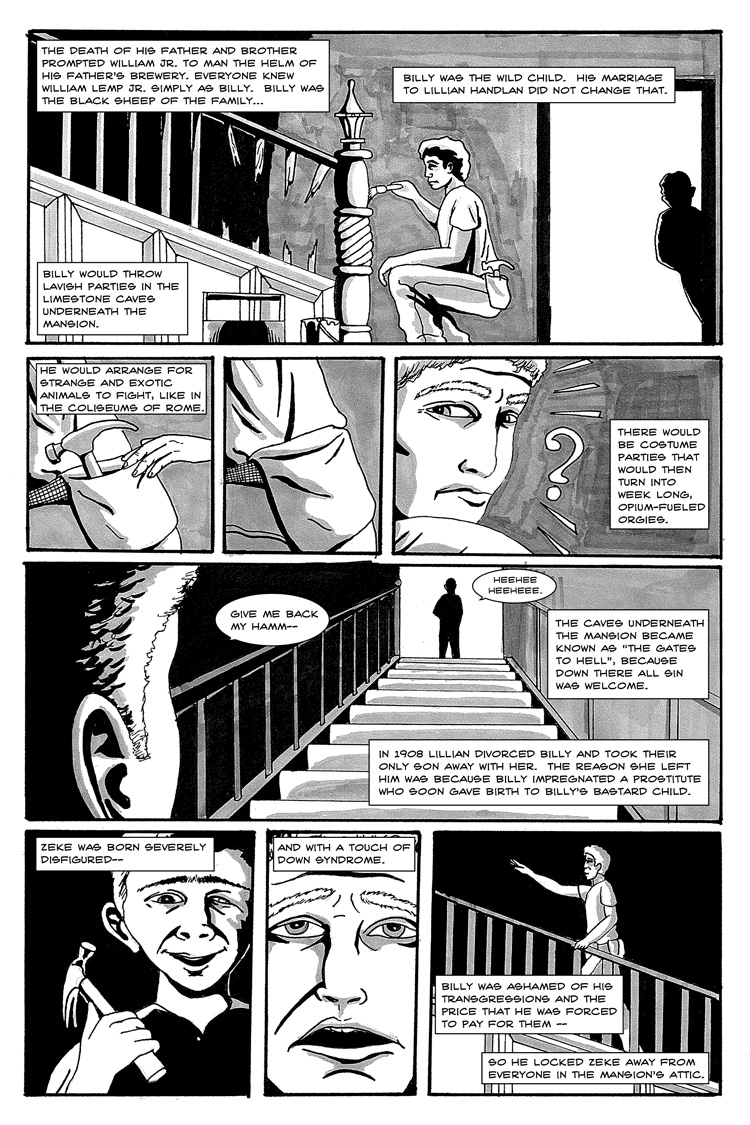 Lemp Deck – Page 3 by Carlos Gabriel Ruiz and Jim Mosley