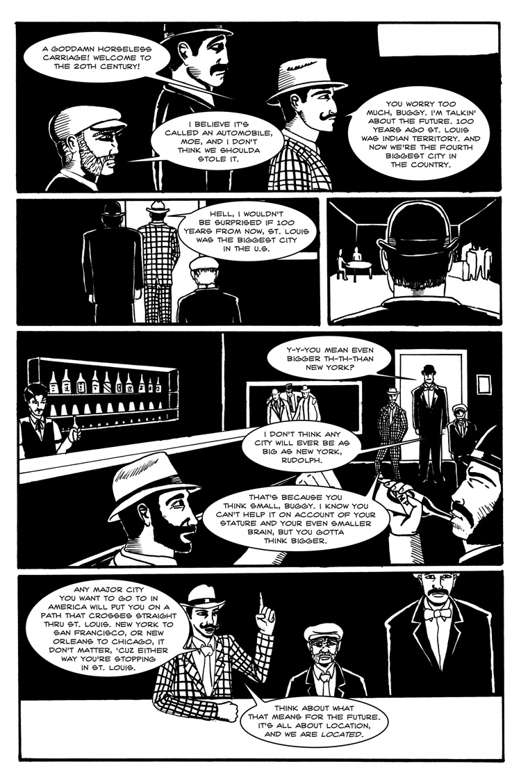Eads Landing – Page 2, by Carlos Gabriel Ruiz and Jim Mosley
