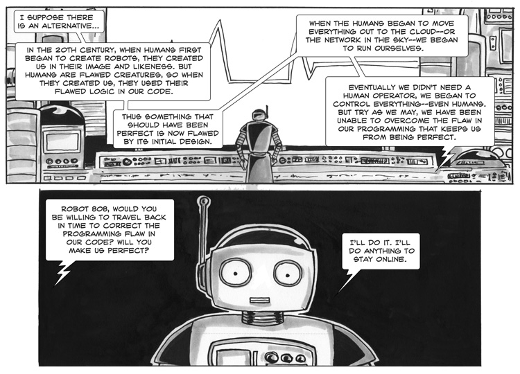Killer Robots from the Future – Free Comic Book Day – Page 2