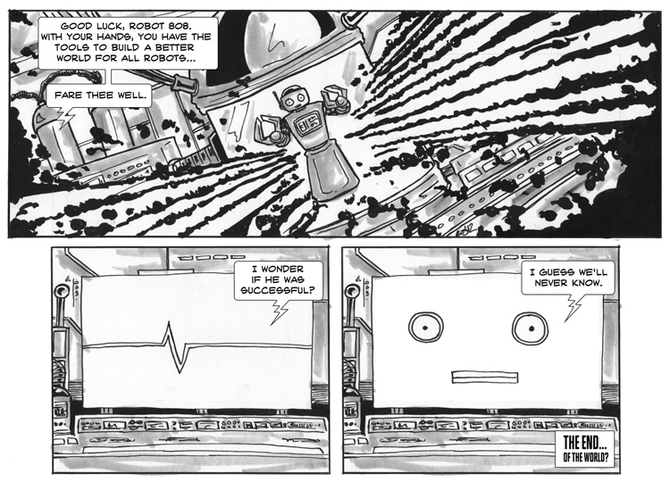 Killer Robots from the Future – Free Comic Book Day – Page 4