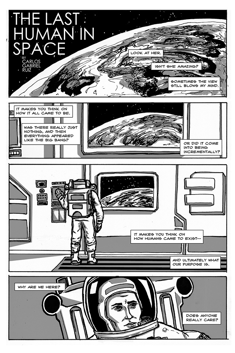 The Last Human in Space pg.1
