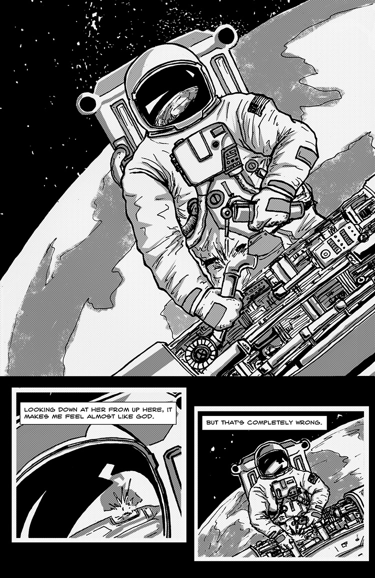 The Last Human in Space pg. 2