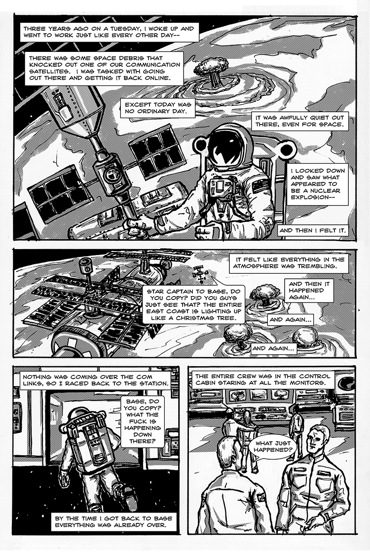 The Last Human in Space pg. 4