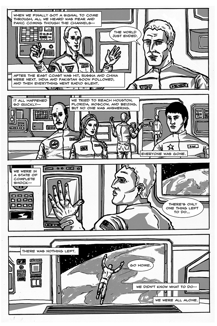 The Last Human in Space pg. 5