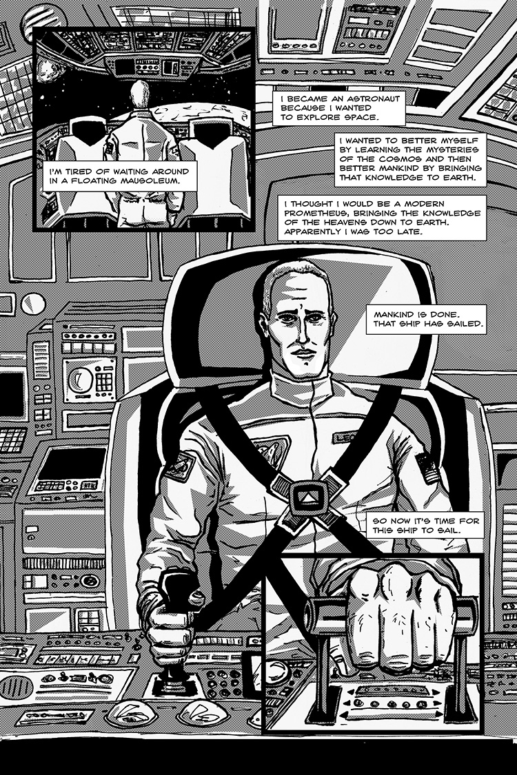 The Last Human in Space pg. 7