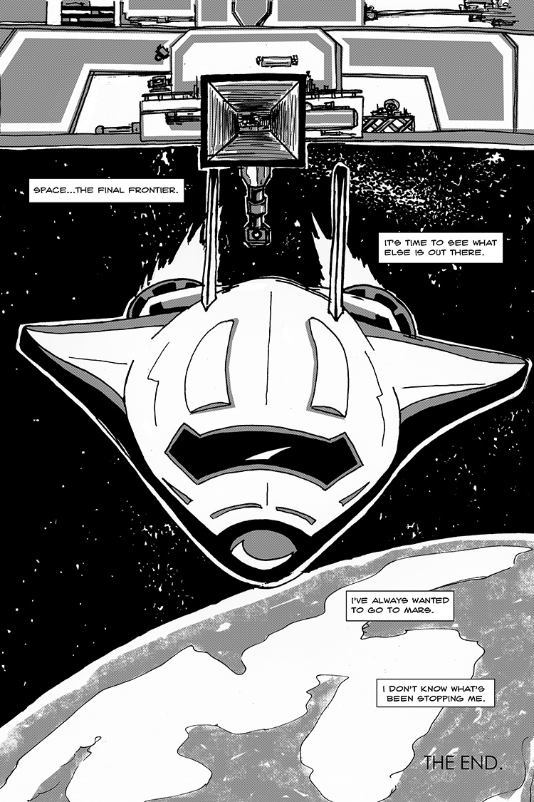The Last Human in Space pg. 8