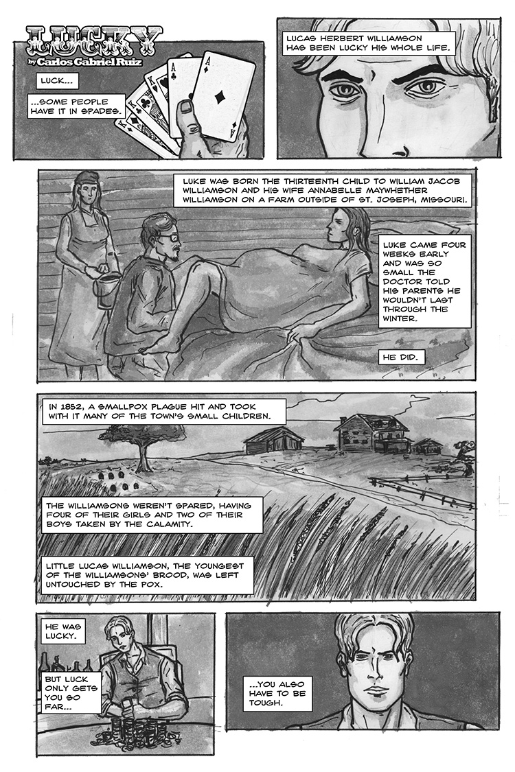 Lucky – Page 1